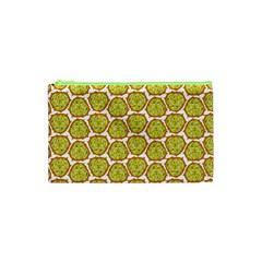 Horned Melon Green Fruit Cosmetic Bag (xs) by Mariart
