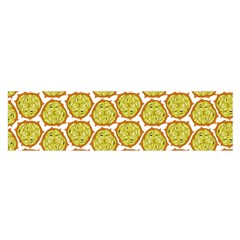 Horned Melon Green Fruit Satin Scarf (oblong) by Mariart