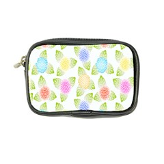Fruit Grapes Purple Yellow Blue Pink Rainbow Leaf Green Coin Purse by Mariart