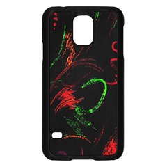 Paint Black Red Green Samsung Galaxy S5 Case (black) by Mariart