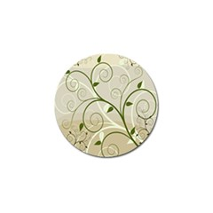 Leaf Sexy Green Gray Golf Ball Marker (4 Pack) by Mariart