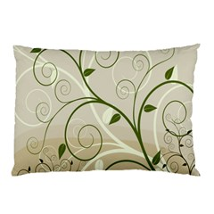 Leaf Sexy Green Gray Pillow Case by Mariart