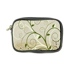 Leaf Sexy Green Gray Coin Purse by Mariart