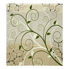 Leaf Sexy Green Gray Shower Curtain 66  X 72  (large)  by Mariart