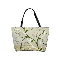 Leaf Sexy Green Gray Shoulder Handbags by Mariart