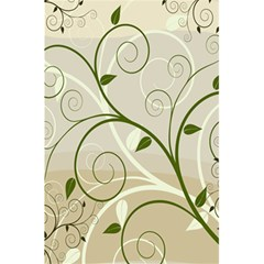Leaf Sexy Green Gray 5 5  X 8 5  Notebooks by Mariart