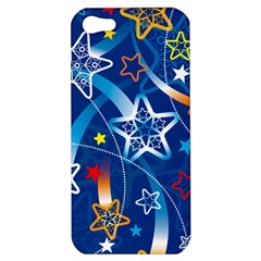 Line Star Space Blue Sky Light Rainbow Red Orange White Yellow Apple Iphone 5 Hardshell Case by Mariart
