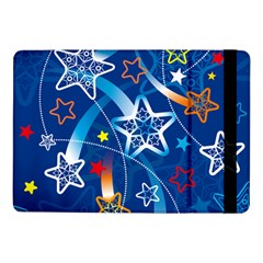 Line Star Space Blue Sky Light Rainbow Red Orange White Yellow Samsung Galaxy Tab Pro 10 1  Flip Case by Mariart