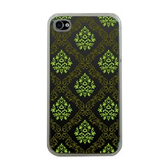 Leaf Green Apple Iphone 4 Case (clear) by Mariart
