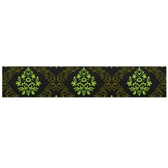 Leaf Green Flano Scarf (large) by Mariart