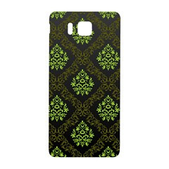 Leaf Green Samsung Galaxy Alpha Hardshell Back Case by Mariart