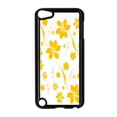 Shamrock Yellow Star Flower Floral Star Apple Ipod Touch 5 Case (black) by Mariart