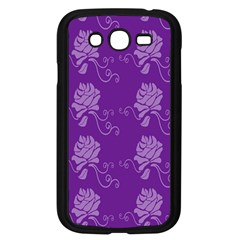 Purple Flower Rose Sunflower Samsung Galaxy Grand Duos I9082 Case (black) by Mariart