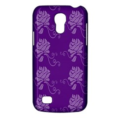 Purple Flower Rose Sunflower Galaxy S4 Mini by Mariart