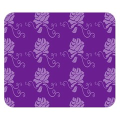 Purple Flower Rose Sunflower Double Sided Flano Blanket (small)  by Mariart