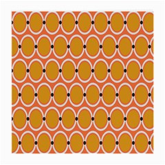 Orange Circle Polka Medium Glasses Cloth (2 Side) by Mariart