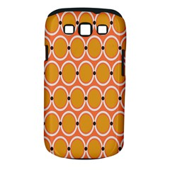 Orange Circle Polka Samsung Galaxy S Iii Classic Hardshell Case (pc+silicone) by Mariart