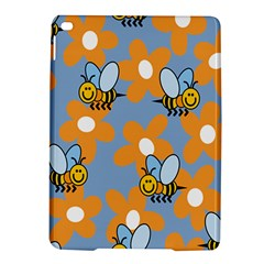Wasp Bee Honey Flower Floral Star Orange Yellow Gray Ipad Air 2 Hardshell Cases by Mariart