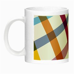 Webbing Line Color Rainbow Night Luminous Mugs by Mariart
