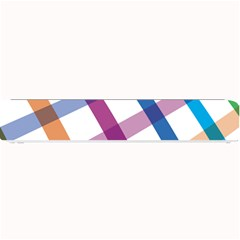 Webbing Line Color Rainbow Small Bar Mats by Mariart