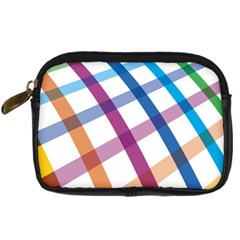 Webbing Line Color Rainbow Digital Camera Cases by Mariart