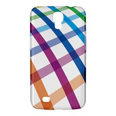 Webbing Line Color Rainbow Samsung Galaxy Mega 6 3  I9200 Hardshell Case by Mariart