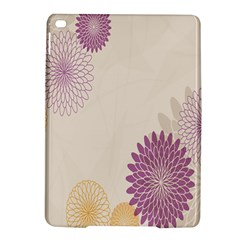 Star Sunflower Floral Grey Purple Orange Ipad Air 2 Hardshell Cases by Mariart