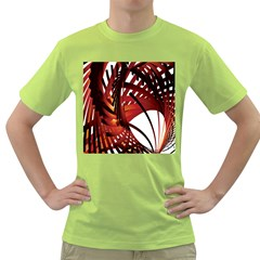 Webbing Red Green T Shirt by Mariart