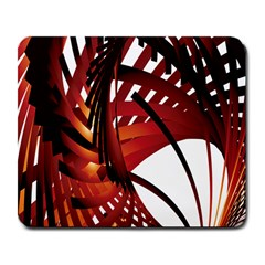 Webbing Red Large Mousepads by Mariart