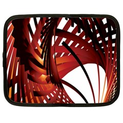 Webbing Red Netbook Case (xxl)  by Mariart