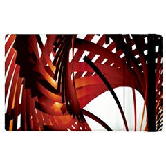 Webbing Red Apple Ipad 2 Flip Case by Mariart