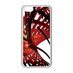 Webbing Red Apple Iphone 5c Seamless Case (white) by Mariart