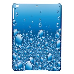 Water Bubble Blue Foam Ipad Air Hardshell Cases by Mariart