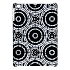 Geometric Black And White Apple Ipad Mini Hardshell Case by linceazul