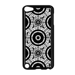 Geometric Black And White Apple Ipod Touch 5 Case (black) by linceazul