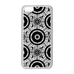 Geometric Black And White Apple Iphone 5c Seamless Case (white) by linceazul