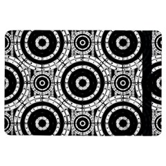Geometric Black And White Ipad Air Flip by linceazul