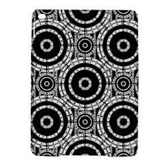 Geometric Black And White Ipad Air 2 Hardshell Cases by linceazul