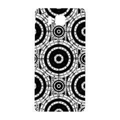 Geometric Black And White Samsung Galaxy Alpha Hardshell Back Case by linceazul