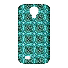 Turquoise Damask Pattern Samsung Galaxy S4 Classic Hardshell Case (pc+silicone) by linceazul