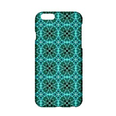 Turquoise Damask Pattern Apple Iphone 6/6s Hardshell Case by linceazul