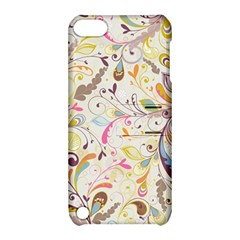 Colorful Seamless Floral Background Apple Ipod Touch 5 Hardshell Case With Stand by TastefulDesigns