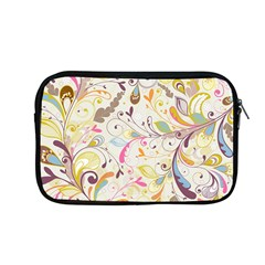 Colorful Seamless Floral Background Apple Macbook Pro 13  Zipper Case by TastefulDesigns