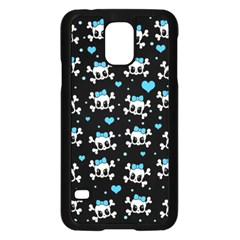 Cute Skulls  Samsung Galaxy S5 Case (black)