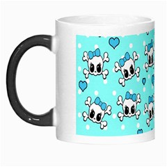 Cute Skull Morph Mugs by Valentinaart
