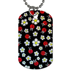 Sixties Flashback Dog Tag (two Sides) by dawnsiegler