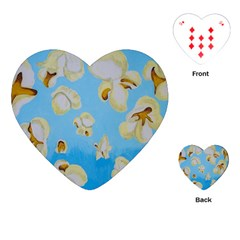 Air Popped Playing Cards (heart)  by dawnsiegler