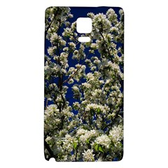 Floral Skies Galaxy Note 4 Back Case by dawnsiegler