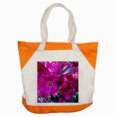 Pretty In Fuchsia Accent Tote Bag by dawnsiegler