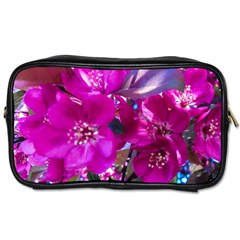 Pretty In Fuchsia Toiletries Bags by dawnsiegler